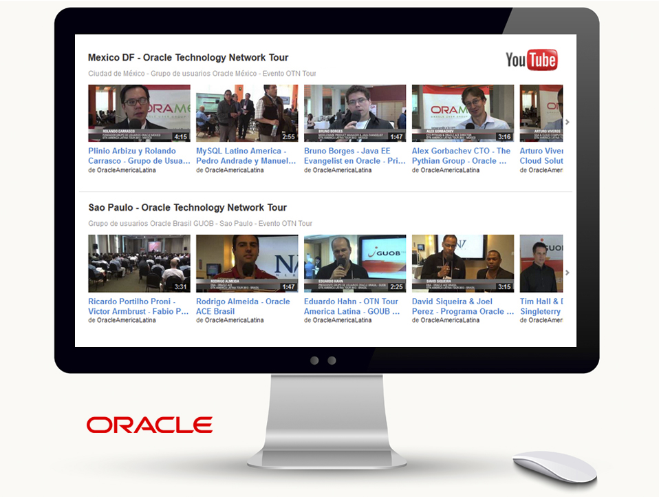 Video online para Oracle